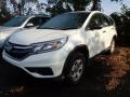 2016 White Diamond Pearl Honda CR-V LX AWD #135515520