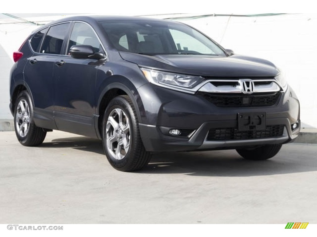 2019 CR-V EX - Gunmetal Metallic / Gray photo #1
