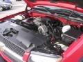 2005 Victory Red Chevrolet Silverado 1500 Z71 Crew Cab 4x4  photo #14