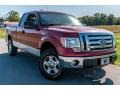 Red Candy Metallic 2010 Ford F150 XL SuperCab 4x4