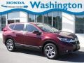 2017 Basque Red Pearl II Honda CR-V EX-L AWD #135548912