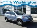 2007 Glacier Blue Metallic Honda CR-V EX-L 4WD  photo #1