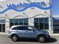2007 Glacier Blue Metallic Honda CR-V EX-L 4WD  photo #2