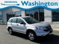 2010 Alabaster Silver Metallic Honda CR-V LX AWD  photo #1
