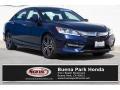 Obsidian Blue Pearl 2017 Honda Accord Sport Sedan