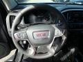 2020 GMC Canyon Jet Black Interior Steering Wheel Photo