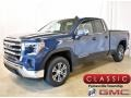 Pacific Blue Metallic 2019 GMC Sierra 1500 SLE Double Cab 4WD