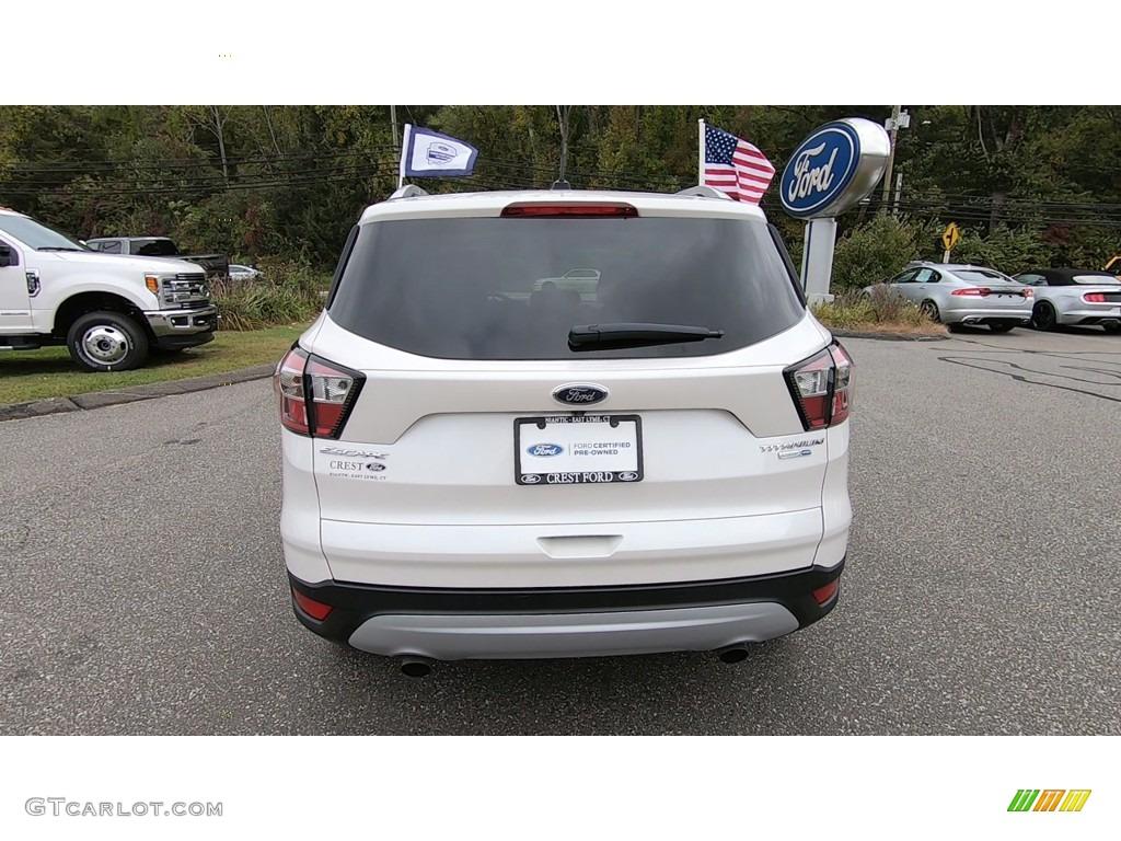 2017 Escape Titanium 4WD - White Platinum / Medium Light Stone photo #6