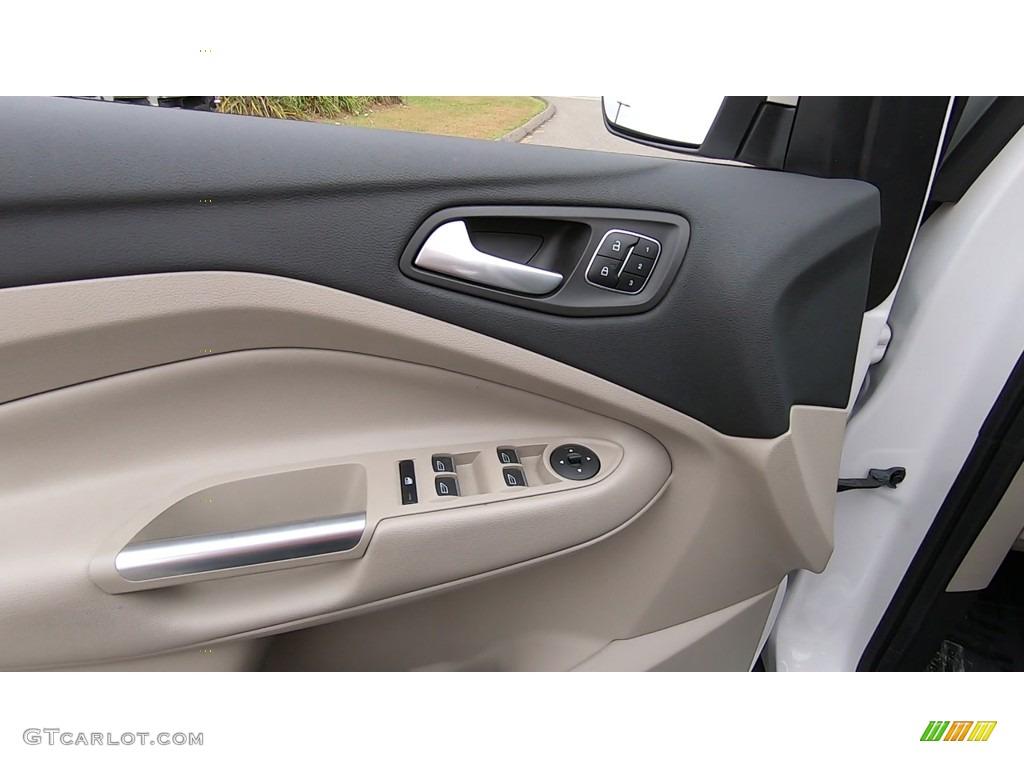 2017 Escape Titanium 4WD - White Platinum / Medium Light Stone photo #13