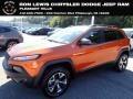 Mango Tango Pearl Coat 2014 Jeep Cherokee Trailhawk 4x4