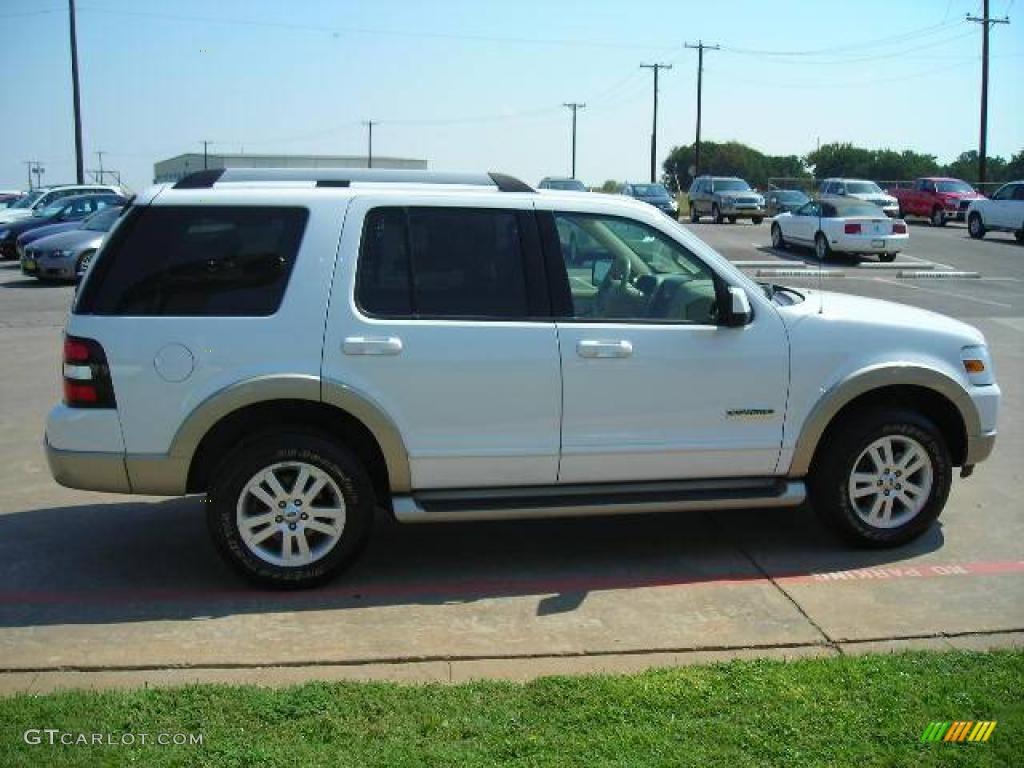2006 Oxford White Ford Explorer Eddie Bauer 1347843 Photo 5