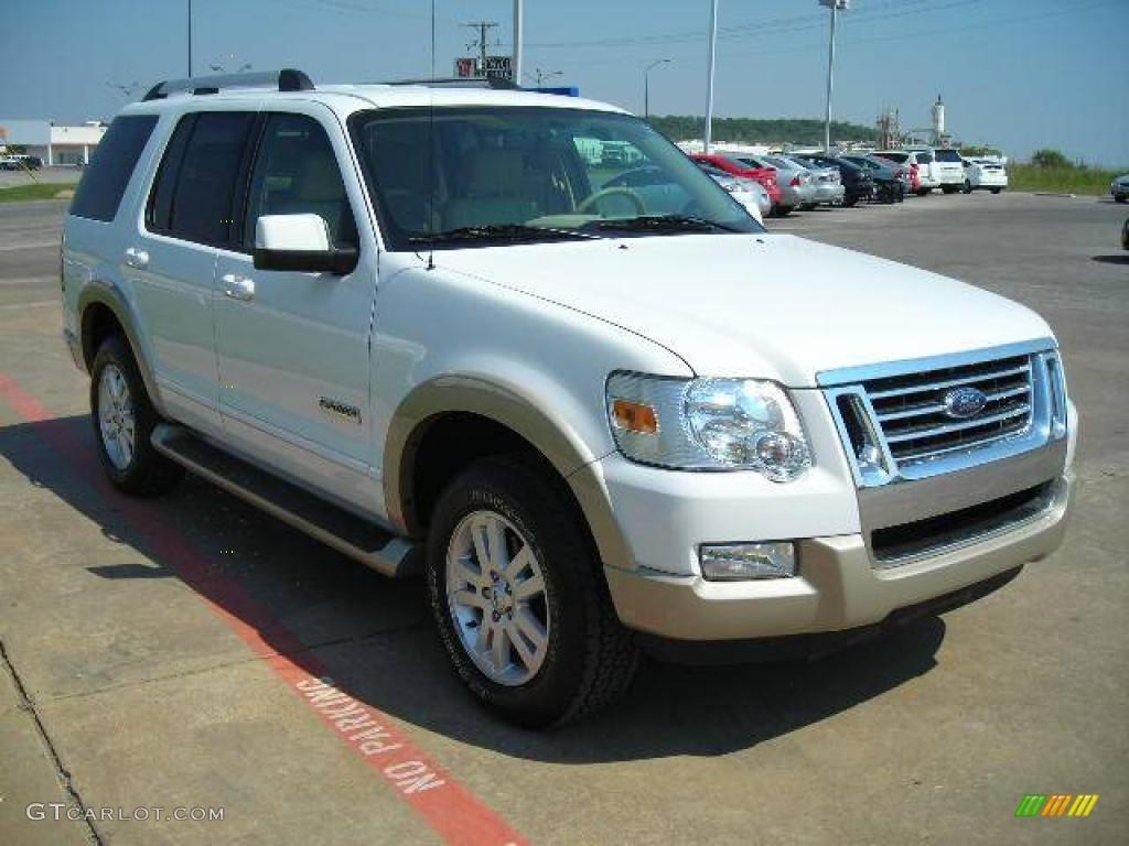 2006 Oxford White Ford Explorer Eddie Bauer 1347843 Photo 6 Car Color Galleries