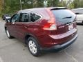 2012 Basque Red Pearl II Honda CR-V EX 4WD  photo #2