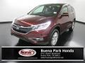 2016 Basque Red Pearl II Honda CR-V EX #135619688