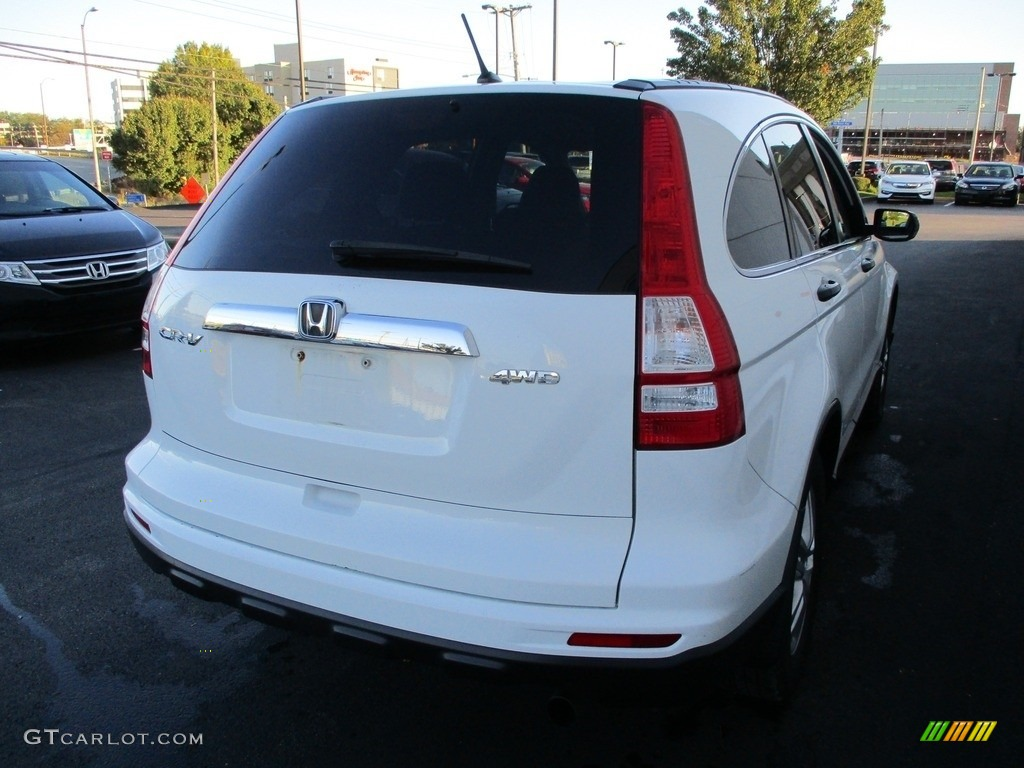 2011 CR-V EX 4WD - Taffeta White / Gray photo #5