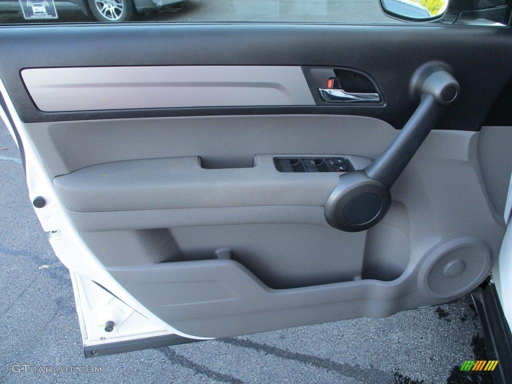2011 CR-V EX 4WD - Taffeta White / Gray photo #10