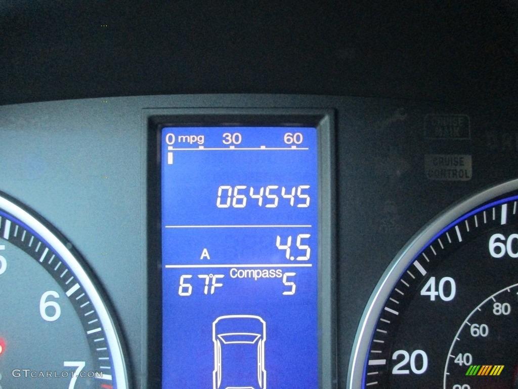 2011 CR-V EX 4WD - Taffeta White / Gray photo #20