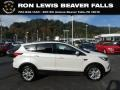 2019 White Platinum Ford Escape SEL 4WD  photo #1