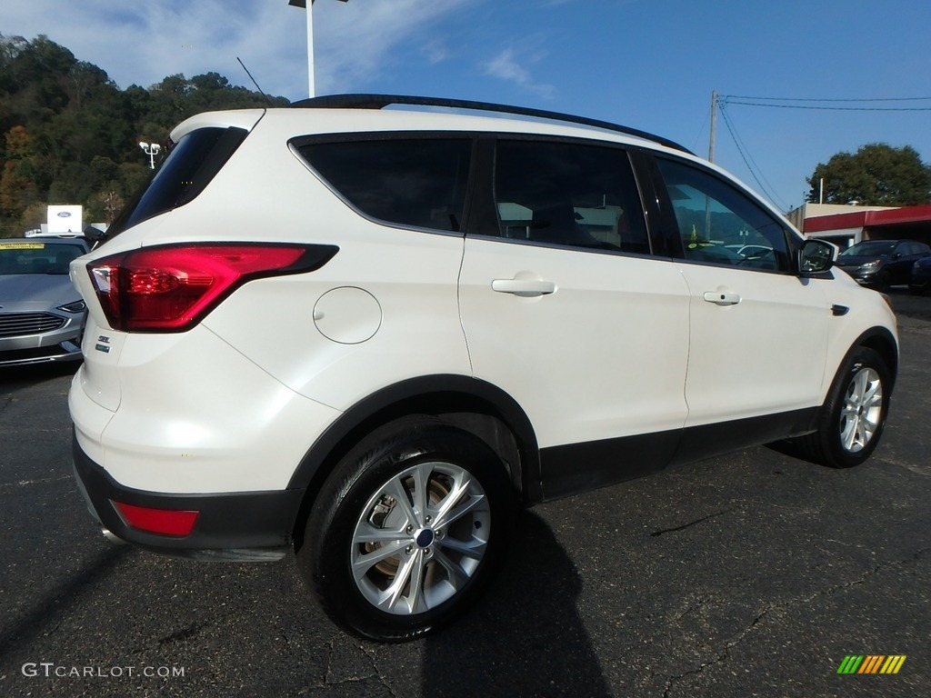 2019 Escape SEL 4WD - White Platinum / Chromite Gray/Charcoal Black photo #2