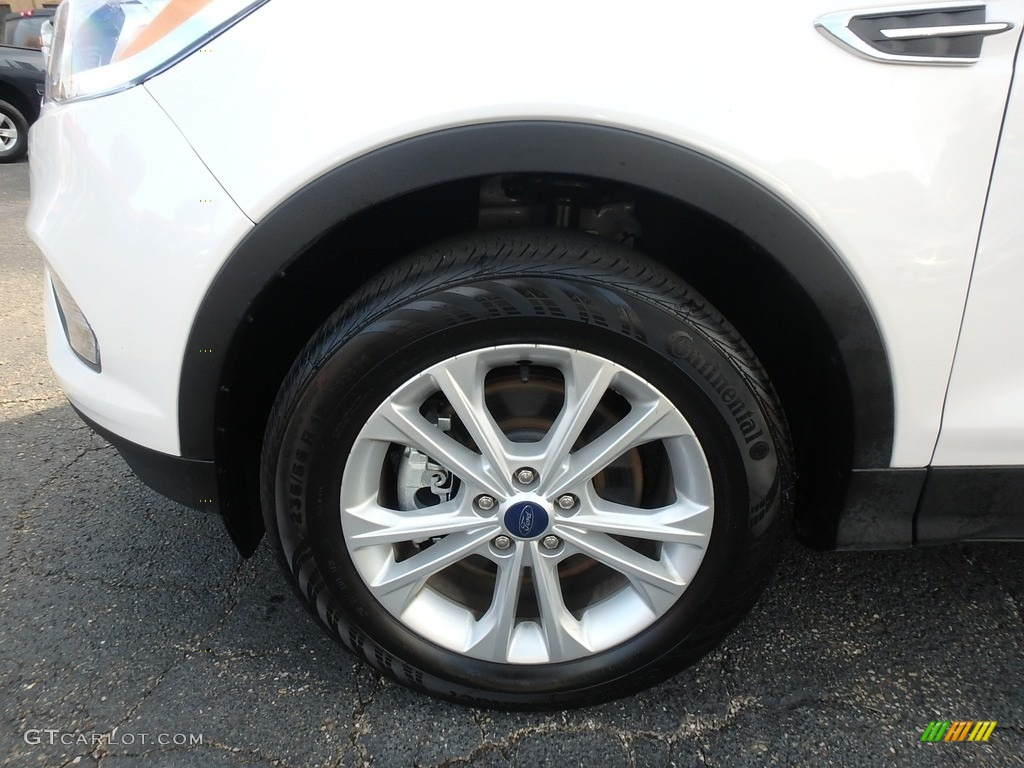 2019 Escape SEL 4WD - White Platinum / Chromite Gray/Charcoal Black photo #11