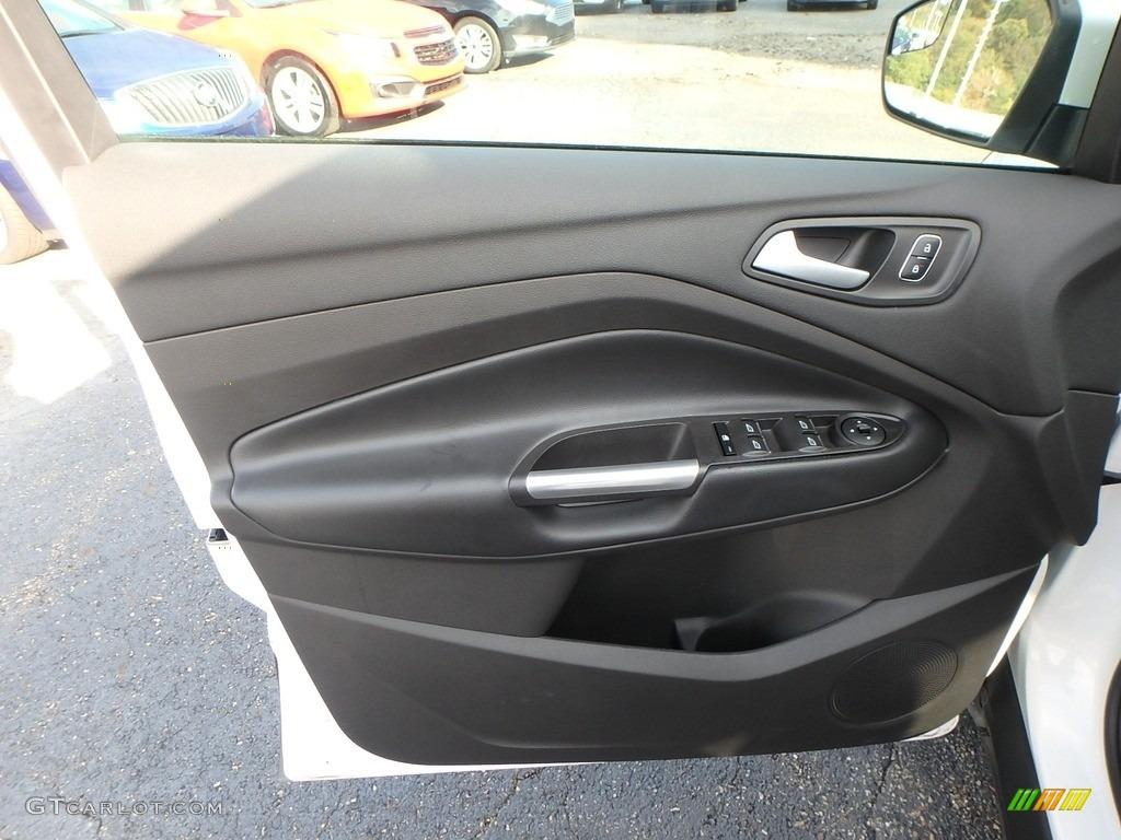 2019 Escape SEL 4WD - White Platinum / Chromite Gray/Charcoal Black photo #16