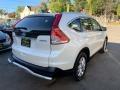 2014 White Diamond Pearl Honda CR-V EX-L AWD  photo #4