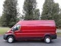 Deep Cherry Red Crystal Pearl 2019 Ram ProMaster 2500 High Roof Cargo Van