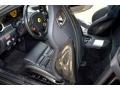 2008 Ferrari 599 GTB Fiorano Black Interior Front Seat Photo