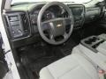 2017 Summit White Chevrolet Silverado 1500 Custom Double Cab 4x4  photo #28