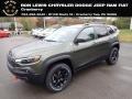 Olive Green Pearl 2020 Jeep Cherokee Trailhawk 4x4