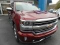 Siren Red Tintcoat 2017 Chevrolet Silverado 1500 High Country Crew Cab 4x4