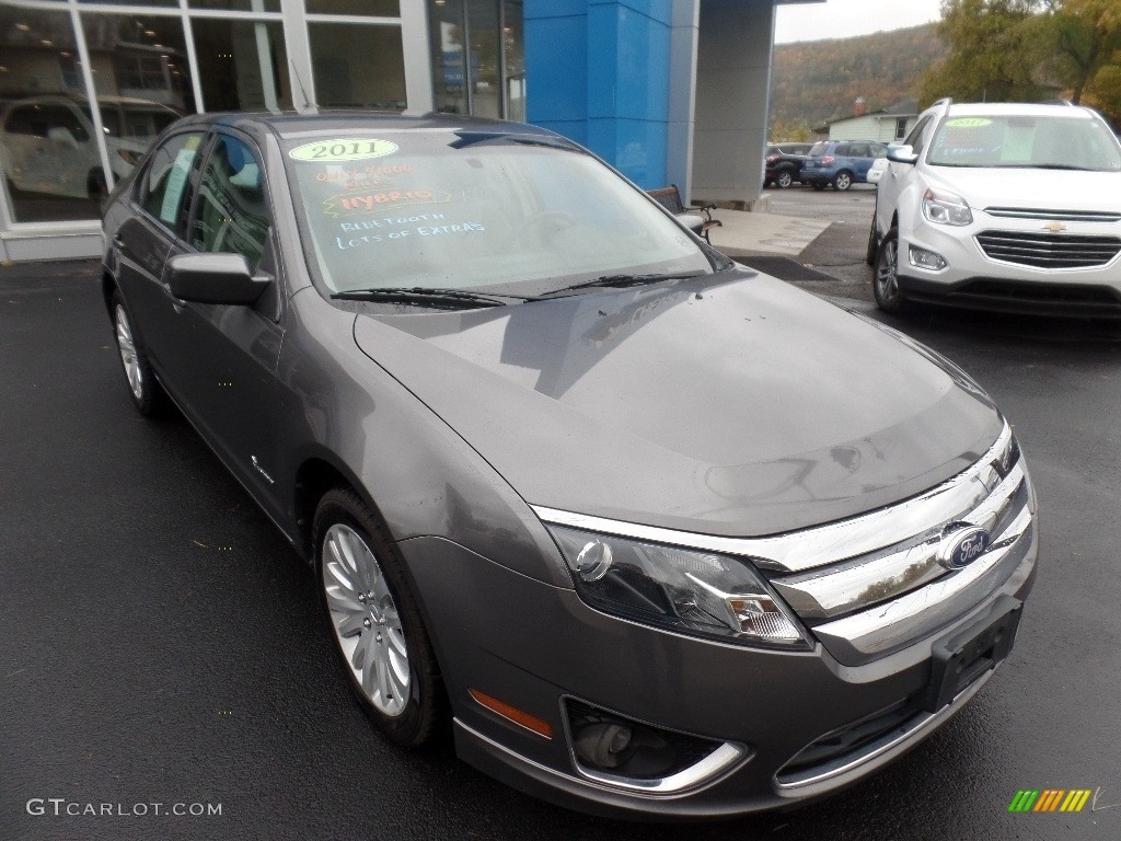 2011 Fusion Hybrid - Sterling Grey Metallic / Charcoal Black photo #1