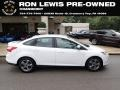 2014 Oxford White Ford Focus SE Sedan #135671269