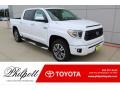 2020 Super White Toyota Tundra Platinum CrewMax 4x4  photo #1