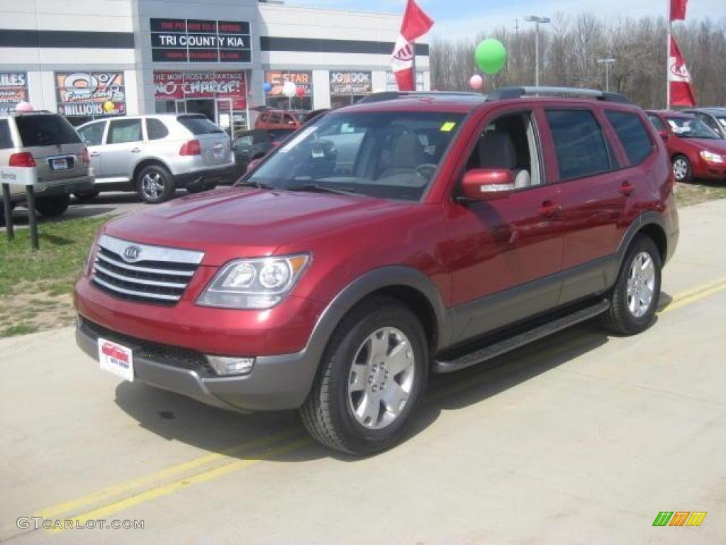 2009 spicy red kia borrego ex v6 4x4 13519163 photo 2 gtcarlot spicy red kia borrego sciox Images