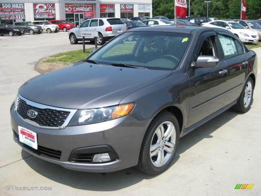 Elegant Midnight Gray Kia Optima