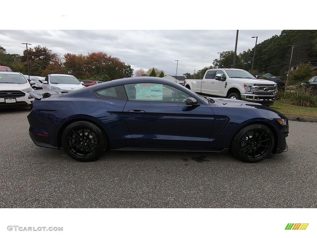 2019 Mustang Shelby GT350 - Kona Blue / GT350 Ebony Leather/Miko Suede photo #8