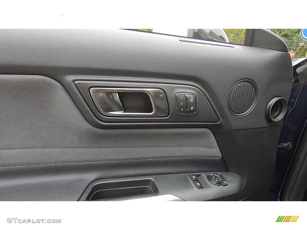2019 Mustang Shelby GT350 - Kona Blue / GT350 Ebony Leather/Miko Suede photo #12