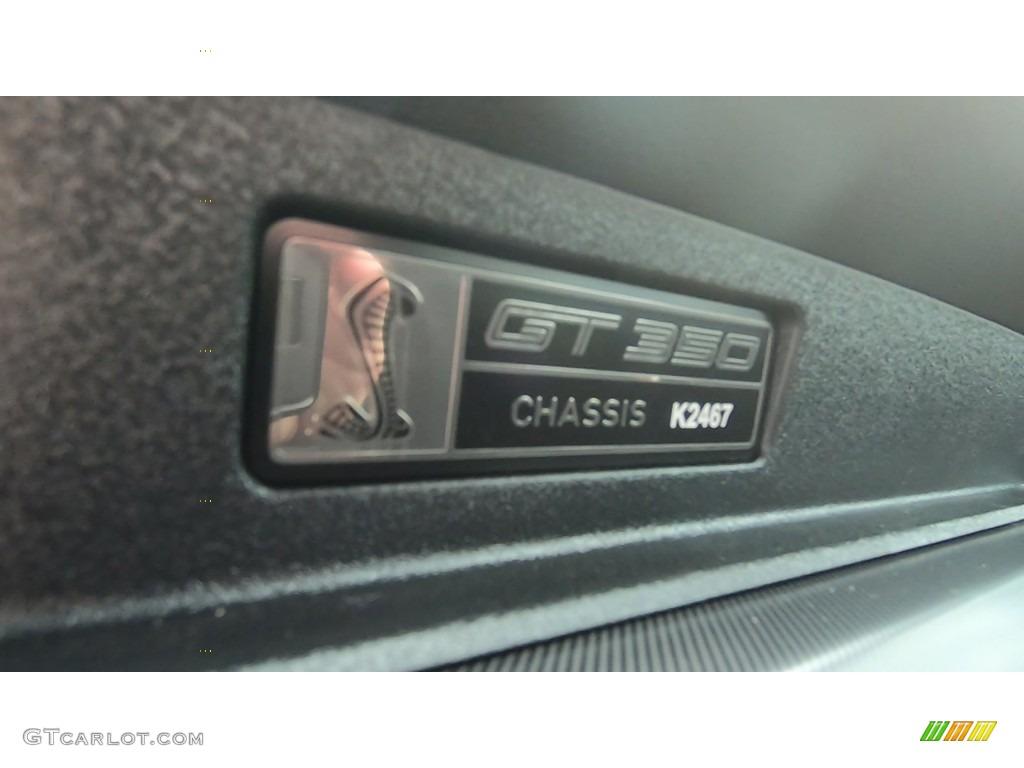 2019 Mustang Shelby GT350 - Kona Blue / GT350 Ebony Leather/Miko Suede photo #19