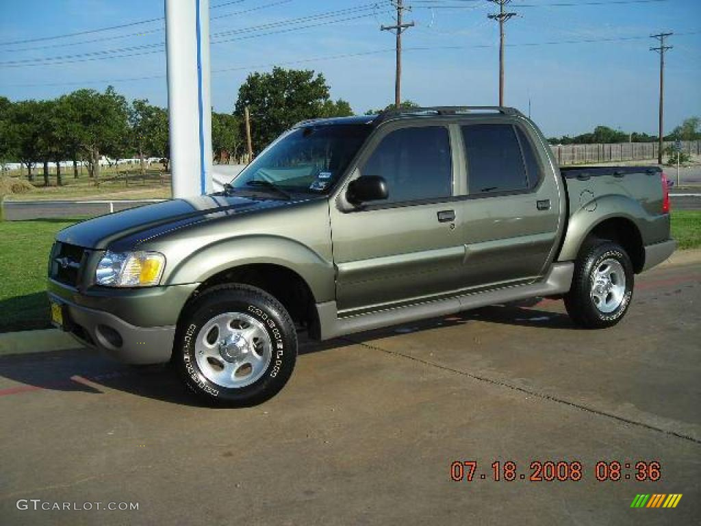2003 estate green metallic ford explorer sport trac xls 1347817