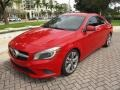 Jupiter Red 2014 Mercedes-Benz CLA 250