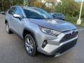 Silver Sky Metallic 2019 Toyota RAV4 Limited AWD Hybrid