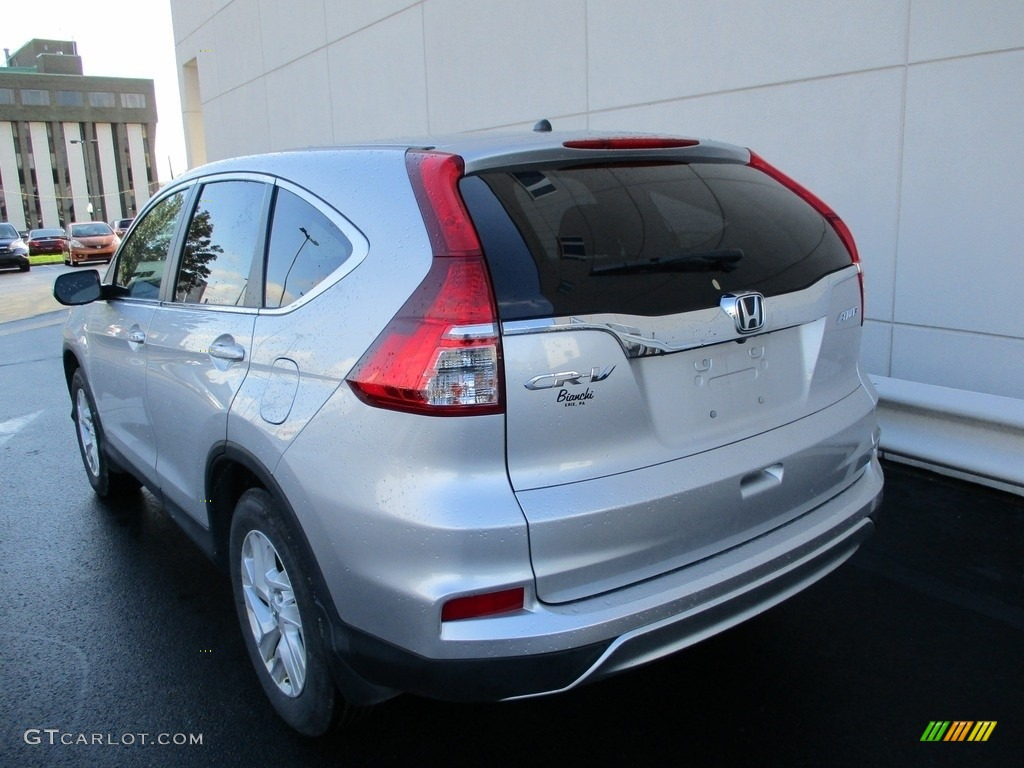 2016 CR-V EX AWD - Alabaster Silver Metallic / Black photo #3