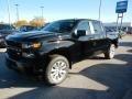 2020 Black Chevrolet Silverado 1500 Custom Crew Cab 4x4 #135745369
