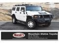 Birch White 2008 Hummer H2 SUV