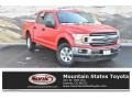 2018 Race Red Ford F150 XLT SuperCrew 4x4 #135762582