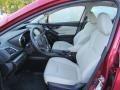 Ivory Front Seat Photo for 2019 Subaru Impreza #135767267