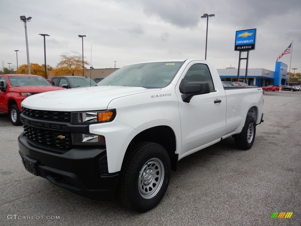 2020 Silverado 1500 WT Regular Cab 4x4 - Summit White / Jet Black photo #1