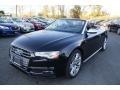 Mythos Black Metallic 2016 Audi S5 Premium Plus quattro Cabriolet