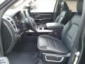 Front Seat of 2020 1500 Laramie Crew Cab 4x4
